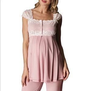 Bondy Intimates   Sleepwear - 3 Pc Maternity Nursing Pajama Set c6252c9c1